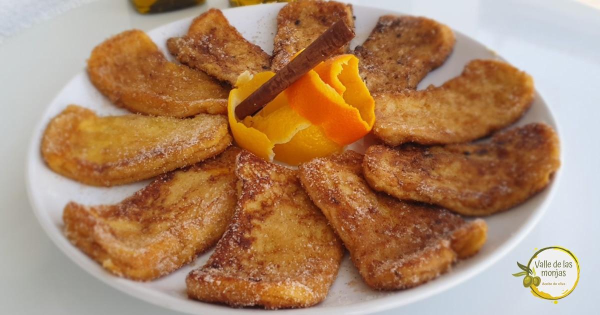 Aprende a cocinar un plato con siglos de tradición, dándole un toque contemporáneo: ¡Torrijas de pan de molde de Valle de las Monjas! ¡Ñam, ñam!